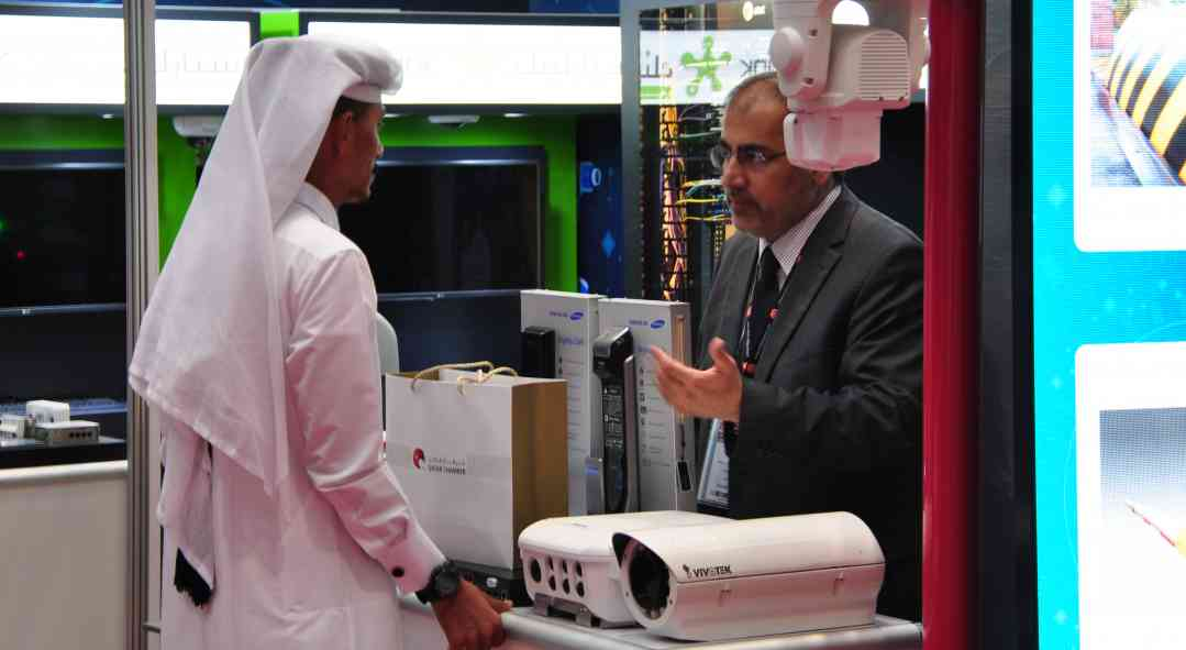 Milipol Qatar visitors and exhibitors