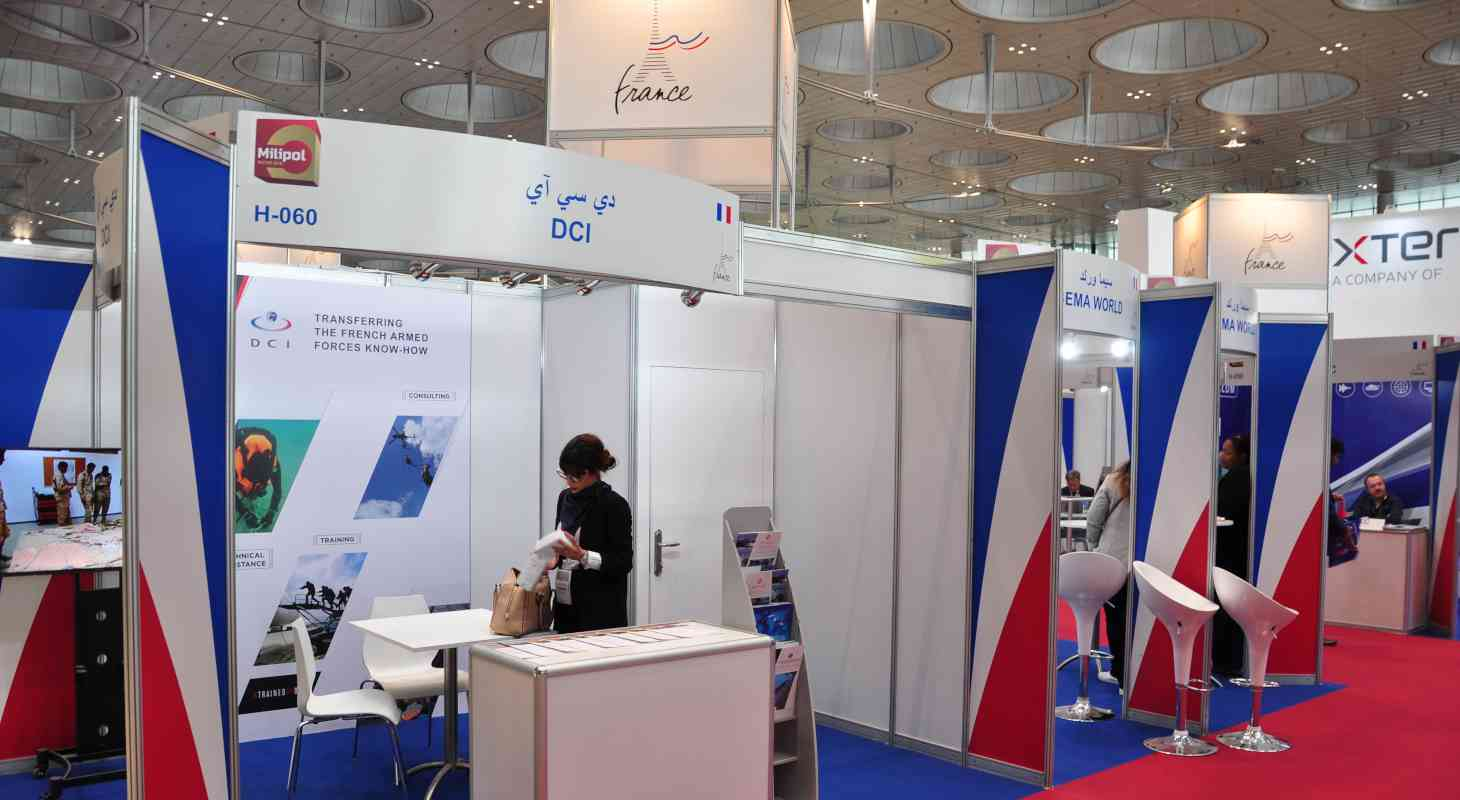 French Pavilion at Milipol Qatar