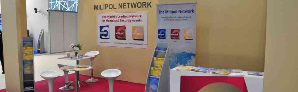 Milipol Network stand