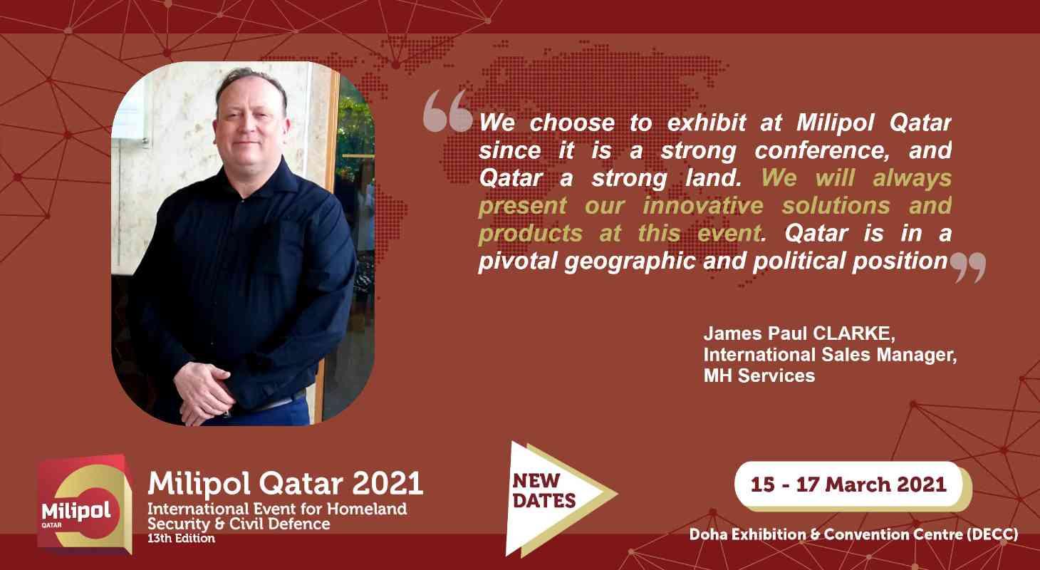 Interview MH Service, Milipol Qatar 2021 exhibitor