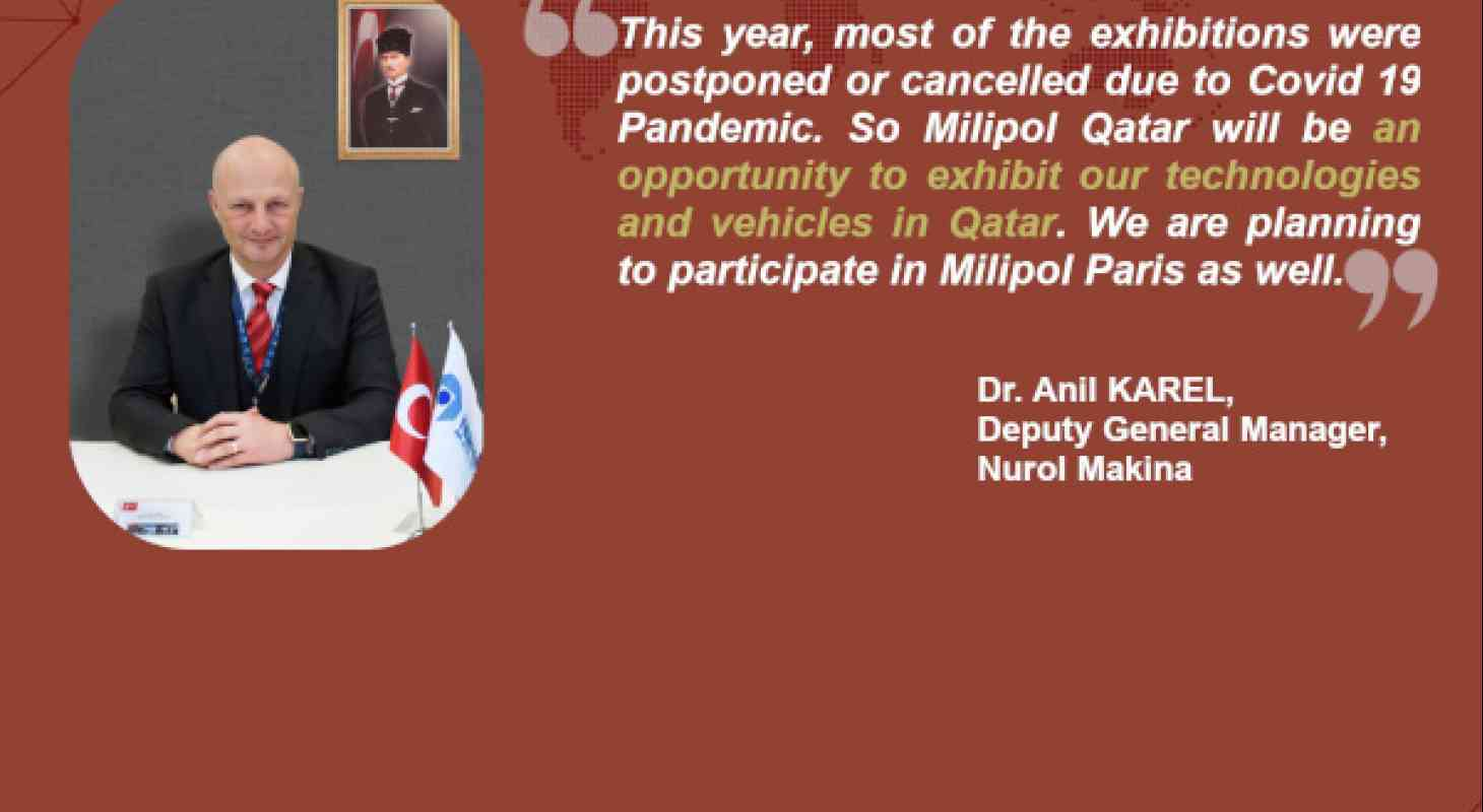 Interview Nurol Makina, Milipol Qatar 2020 exhibitor