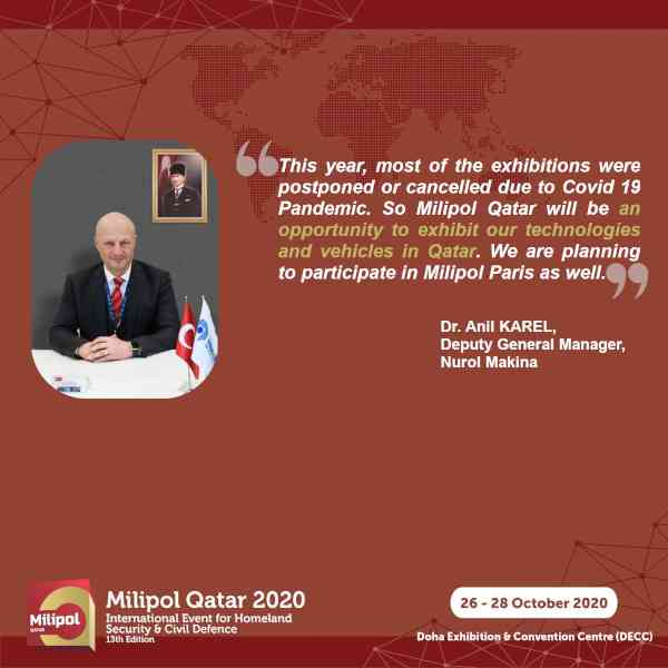 Interview Nurol Makina, Milipol Qatar 2020 exhibitor
