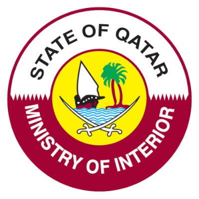 Ministry of Interior of Qatar Logo