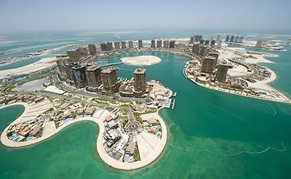 The Pearl in Qatar
