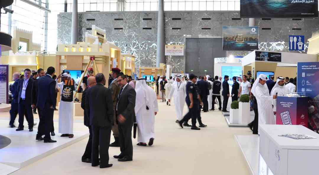 Milipol Qatar visitors