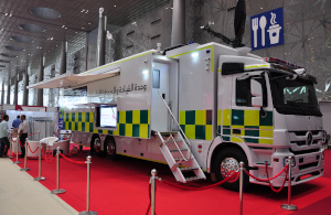 Firefighting and civil defence at Milipol Qatar