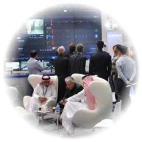 Exposants et visiteurs Milipol Qatar