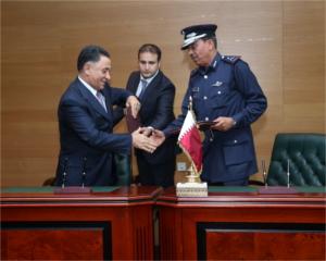 Contrats conclus durant Milipol Qatar